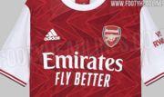 ФОТО. У мережі з'явилася форма Арсеналу на наступний сезон