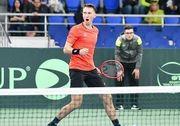 Стаховський програв стартовий матч на Кубку Будапешта