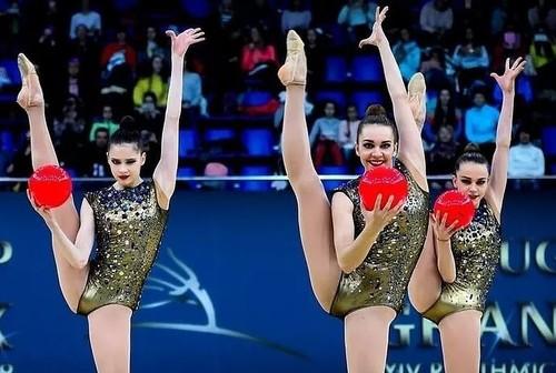 ВИДЕО. Сборная Украины по художественной гимнастике вышла из карантина