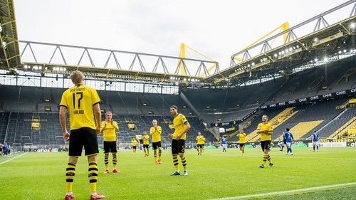 Вольфсбург – Боруссия Дортмунд. Где смотреть онлайн матч Бундеслиги