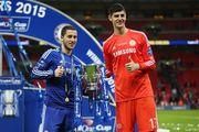 КУРТУА: «Еще в Челси говорили с Азаром о том, что будем играть в Реале»