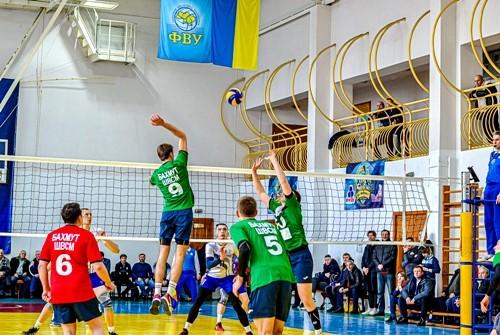Чемпионат Украины по волейболу в низших лигах будет продолжен