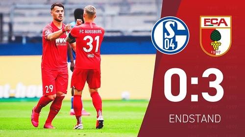 Шальке – Аугсбург – 0:3. Видео голов и обзор матча