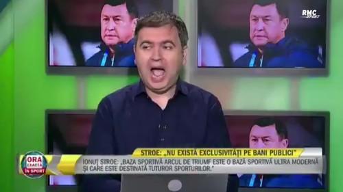 ВИДЕО. Без штанов. Как министр спорта Румынии опозорился в прямом эфире