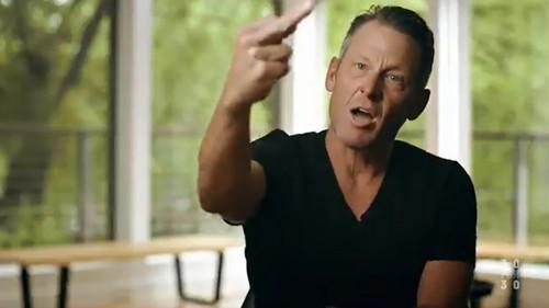 ВІДЕО. Та пішли ви всі. Фільм про Армстронга розпочинається з нецензурщини