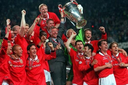 Манчестер юнайтед бавария 1999 финал видео последние минуты