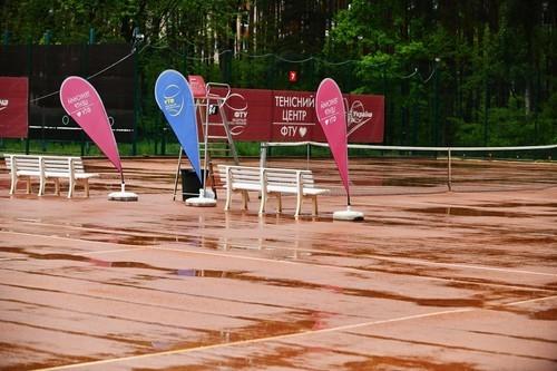 Турнір в Ірпені. Матчі п'ятниці відкладені через дощ