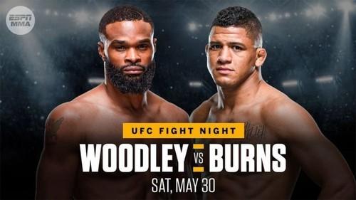 Де дивитися онлайн бій UFC: Тайрон Вудлі – Гілберт Бернс