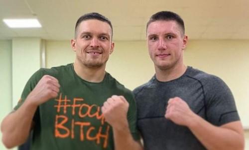 Перспективный украинский супертяжеловес сравнил Усика и Поветкина