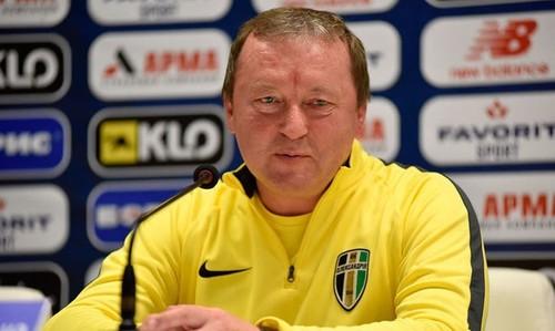 Шаран провел 200-й матч во главе Александрии