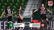 Вердер – Айнтрахт – 0:3. Відео голів та огляд матчу