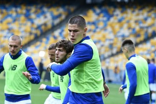 Динамо готовится к матчу с Александрией