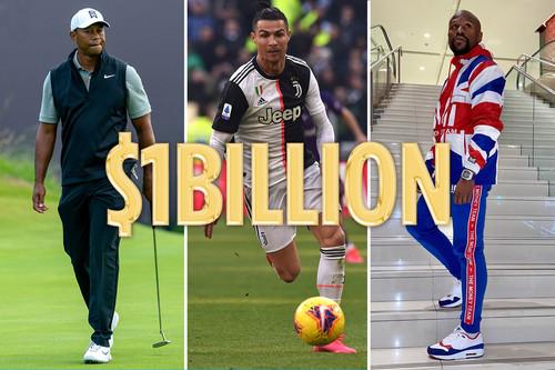 Поднял миллиард. Роналду стал третьим спортсменом, заработавшим $1 млрд