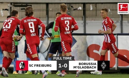 Фрайбург – Боруссія Менхенгладбах – 1:0. Відео голу і огляд матчу
