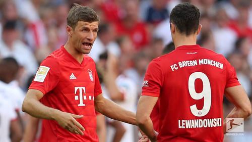 Шесть голов в матче. Бавария победила Байер в результативном поединке