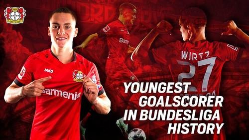 Виртц – самый молодой автор гола в истории Бундеслиги