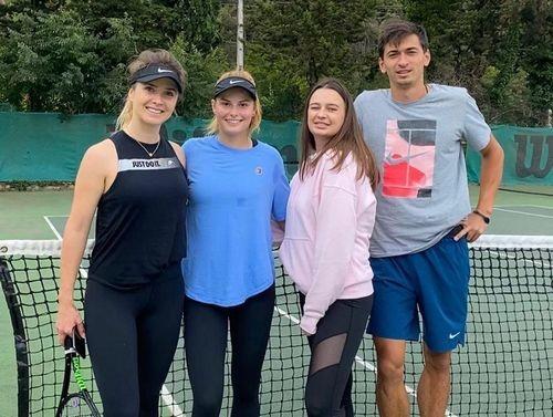 ФОТО. Свитолина и Завацкая сыграли в теннис