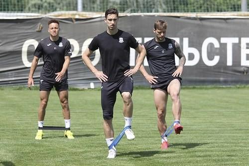 Олімпік почав підготовку до матчу зі Львовом