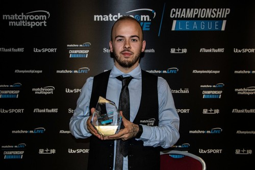 Люка Бресель выиграл снукерную Лигу чемпионов