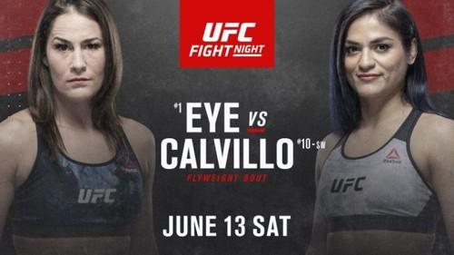 Где смотреть онлайн UFC on ESPN 10: Джессика Ай – Синтия Кальвильо