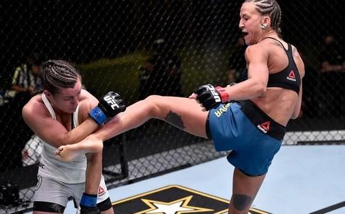 UFC. Мария Агапова – Ханна Сайферс. Видео боя