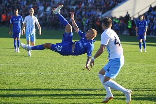 Минай – Динамо – 0:2. Текстовая трансляция матча