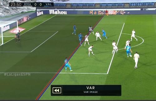 ВИДЕО. Гол Валенсии в ворота Реала был отменен после просмотра VAR