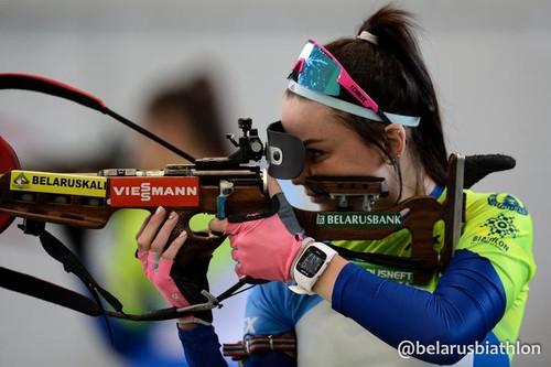 ФОТО. Сборная Беларуси по биатлону показала форму на следующий сезон