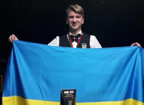 ОФИЦИАЛЬНО. Украинский тинейджер получил путевку в Мировой снукерный тур