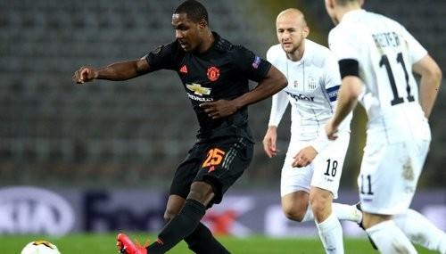 Манчестер Юнайтед уничтожил ЛАСК в первом матче 1/8 финала Лиги Европы
