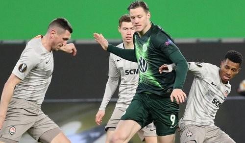 Вольфсбург — Шахтер — 1:2. Видео голов и обзор матча