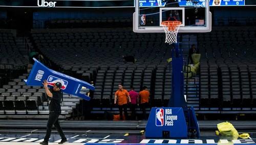 Сезон НБА возобновится не ранее чем через 30 дней