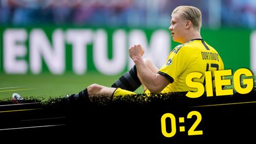 РБ Лейпциг — Боруссия Дортмунд - 0:2. Видео голов и обзор матча