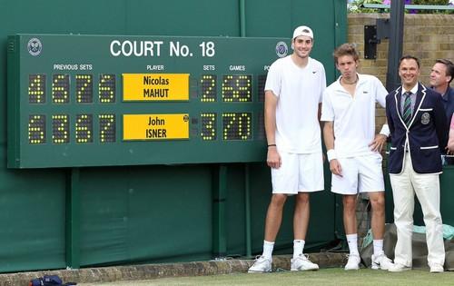Десять лет назад состоялся самый продолжительный матч в истории тенниса