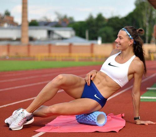 ВІДЕО. Як Марина Бех-Романчук тренує стрибки в Хмельницькому
