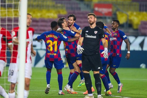 Барселона – Атлетик – 1:0. Видео гола и обзор матча