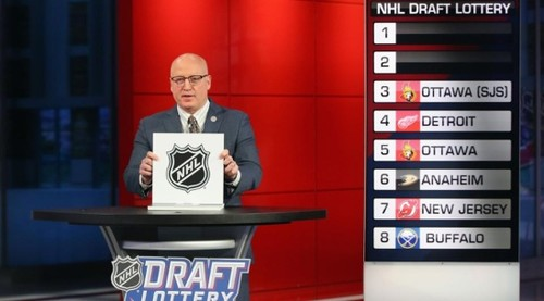Драфт НХЛ. Состоялась первая фаза лотереи, стартовый номер не определен
