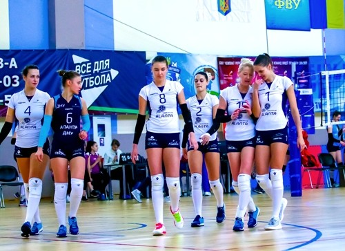 Аланта стала победителем чемпионата Украины в женской высшей лиге
