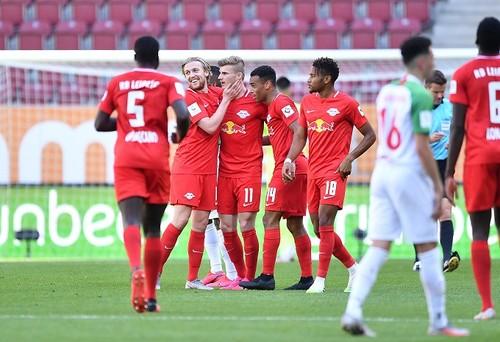 Аугсбург – РБ Лейпциг – 1:2. Видео голов и обзор матча