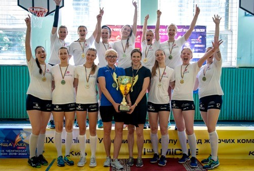 После карантина в украинском волейболе разыгран третий комплект наград
