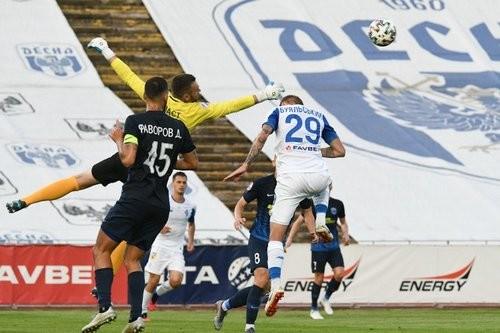 Десна впервые в истории на своем поле нанесла поражение Динамо