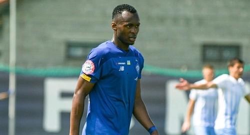 20-летний бельгиец Ибрагим Каргбо провел первый матч за Динамо в УПЛ