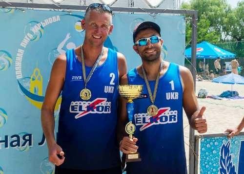 Состоялся второй тур чемпионата Украины по пляжному волейболу