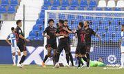 Севилья разгромила в гостях Леганес и удерживает место в топ-4 Ла Лиги