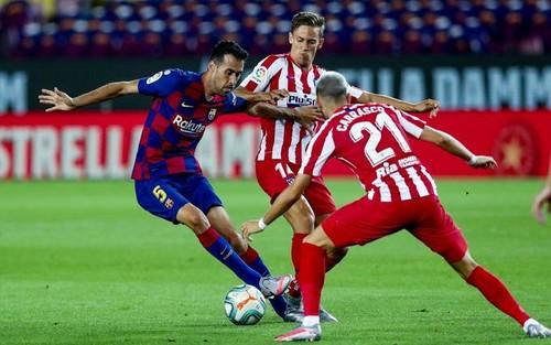 Барселона – Атлетико – 2:2. Текстовая трансляция матча