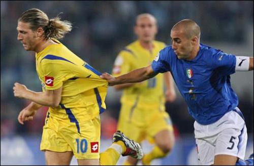 ВИДЕО. 14 лет назад Украина сыграла в 1/4 финала чемпионата мира