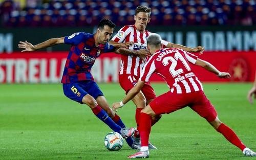 Барселона — Атлетико — 2:2. Видео голов и обзор матча
