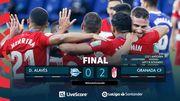 Алавес – Гранада – 0:2. Видео голов и обзор матча