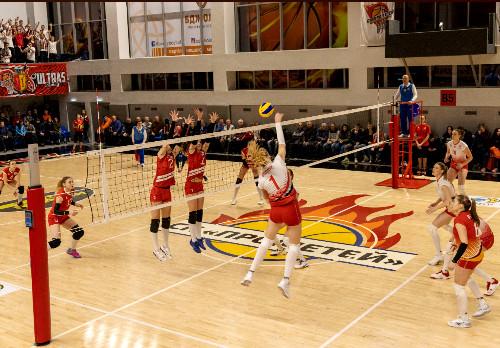 Волейболистки каменского СК Прометея начинают подготовку к новому сезону
