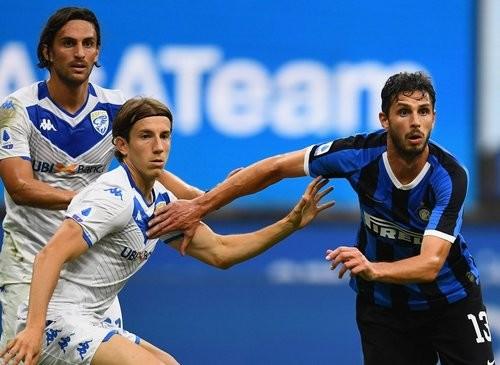 Интер — Брешия — 6:0. Видео голов и обзор матча